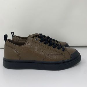 Coach Leather Platform Sneakers